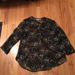 Tops - NWOT sheer tunic top